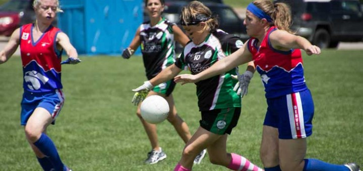 Ladies Gaelic Football at Gaelic Games in Denver 2015 © PS Photography